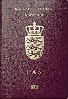grönlandi útlevél Biometric Passport, Little Mermaid Statue, Kingdom Of Denmark, British National, Visa, Birth Certificate, Passport Cover, Ielts, Danish