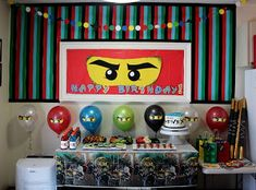 …Holy Hill...: Ninjago Birthday Party!!