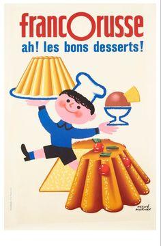 Affiche d' Herve Morvan 1962