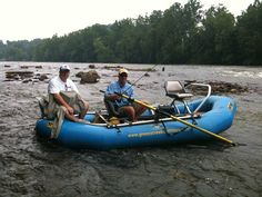 Fly fishing the New River with Guide Mike Smith.