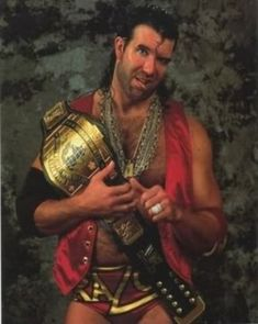 "Scott Hall aka ""The Bad Guy"" Razor Ramon"