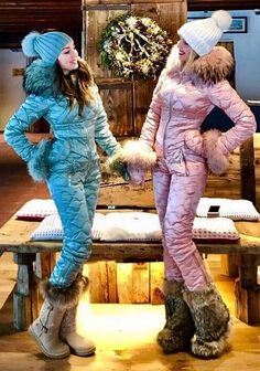 naumi teal and pink suits Down Suit, Snowboarding Outfit, Snow Outfit, Winter Suit, Leather Jacket Outfits, Fur Clothing, Pink Suit, Teal And Pink, Winter Wardrobe