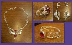 Šperky - souprava ze stříbra Charmed, Chain, Bracelets, Jewelry, Jewlery, Jewerly, Necklaces, Schmuck, Jewels