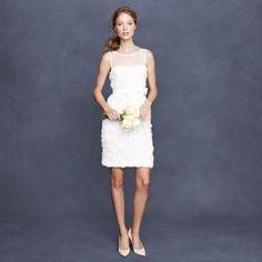 Short Wedding Dresse J. Crew 1 | Weddingbells.ca