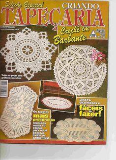 Caminos de mesa - Mònica Pinos - Picasa Web Albums #crochetmagazine