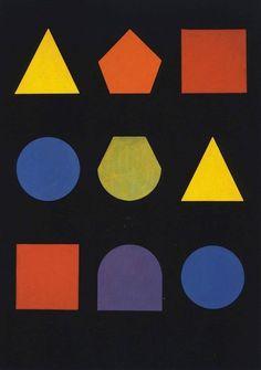 Herbert Bayer: Untitled postcard, Bauhaus, N.d.