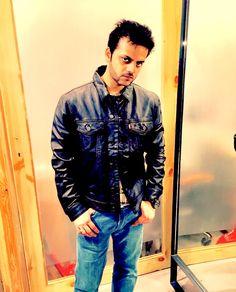 Levi's vintage leather jacket. For that uber vintage appeal.