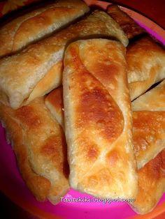 Φακελάκια με τυρί και ζαμπόν