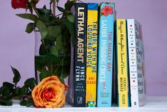 On Our Bedside Table: Stories of Friendship, Empowerment, Terrorism and Mental Illness Ladies Swimming, Vince Flynn, Book Corners, Book Review, The Book, The Voice, Mental Health, Change, Green