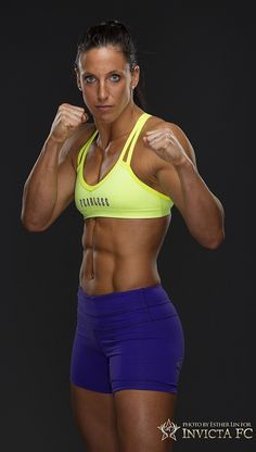 Female Mixed Martial Arts - Julia Budd, MMA fighter