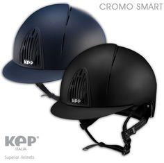 Kep Italia leader nella fornitura di caschi per equitazione, ha prodotto CROMO SMART.