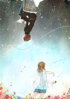 외울 만큼 많이 읽었던 편지 매일 다른 기분 속에서 난 같은것을 느끼네   오늘도 반복될 진부한 옛 이야기지만 모든 것의 시작과 탄생에는 의미가 있듯   내가 느끼는 고마움과 미안함은 다시는 받지 못할 그녀의 작은 글자들에서 시작 되었네   내게 그림을 그리게 하고 지친 내 심장을 다시 뛰게 하고 편지 속 내 이름을 가진 남자를 그리워하게 하고...