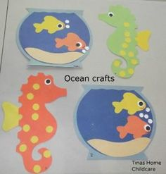 ocean crafts from Kids crafts by savannah
