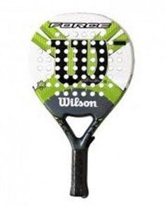 Pala de pádel Wilson Force Una de las palas de mayor éxito de la marca Wilson. Muy competitiva en precio, ofrece unas altísimas prestaciones y una relación control-potencia que satisfará a los padeleros más exigentes