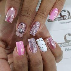 Fancy Nails, Cute Nails, Vip Nails, Nail Games, Nagel Gel, Beautiful Nail Art, Nail Colors, Nail Art Designs, Beauty Hacks