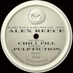 Alex Reece – Pulp Fiction / Chill Pill (Metalheadz) 1995 // Drum n Bass
