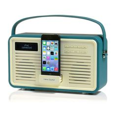 Retro i5 Teal by VQ - such a gorgeous radio, with space to play music from my iPhone too. Wishlisted!