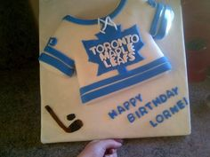 Maple leafs cake Toronto Maple Leafs, Cakes, Party, Desserts, Food, Tailgate Desserts, Deserts, Cake Makers, Kuchen
