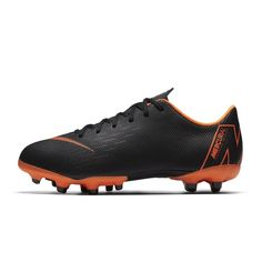 Chaussures football Chaussure de Football Nike Mercurial Vapor XII Academy  MG Noir Junior ebeaaf7d85c3