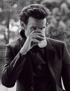 Matt Smith para Esquire Singapur por Alan Clarke English actor Matt Smith becomes a black and white Matt Smith, Robert Smith, Alan Clarke, Professor, Esquire Uk, Don't Blink, Eleventh Doctor, Peter Capaldi, British Men