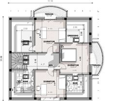 Ovakvu kuću žele svi da imaju: Možete je imati i vi za samo eura (Foto) Bungalow Style House, Bungalow Haus Design, House Doors, Facade House, Home Building Design, Building A House, Modern Tv Room, House Design Pictures, Dream Home Design