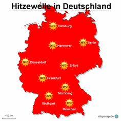 die Hitze. Hitzewelle in Deutschland.    Help learning and memorize German vocabulary with images or  Bildwörter. Create or add your own word pin and tag it with #germanmems so we can add it to the Mems board. Aprender vocabulario alemán. Alemão.