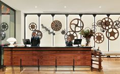 Reception  #h10cubik #cubik #barcelona #h10 #hotel #hotels