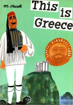 This is Greece book illustration
