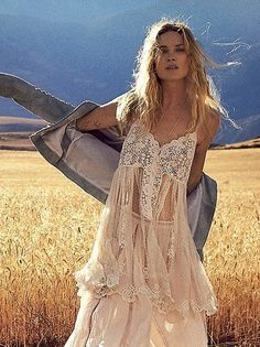 Boho Dresses, Free People browse through much more indie boho style at https://naturaledgestyle.com
