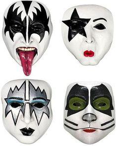 kiss rock band makeup - Google Search