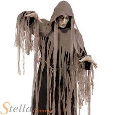 Men's Zombie Nightmare Halloween Fancy Dress Costume Ghost Ghoul Adult Outfit | eBay