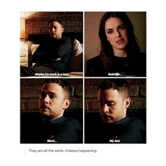 FitzSimmons, Fitz, Simmons, Ward, Radcliff, Fitz's dad