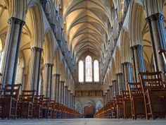 Salisbury Cathedral, Wiltshire ...    This was a most awesome place!