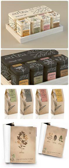 ARTEA(茶)包装设计欣赏