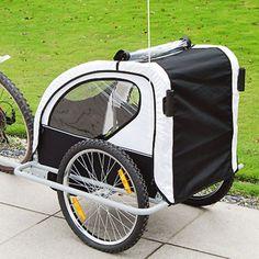 Aosom 2 in 1 Child Bike Trailer and Stroller