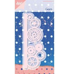 Joy! Craft Cutting & Embossing - Stencil Rand tandwielen (6002/0288)