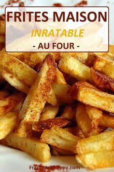 Paleo - Frites maison super rapide, healthy et tellement bonne ! - It's The Best Selling Book For Getting Started With Paleo Potato Dishes, Food Dishes, Side Dishes, Seasoned French Fries Recipe, Seasoned Fries, Super Dieta, Super Bowl Essen, Paleo Recipes, Cooking Recipes