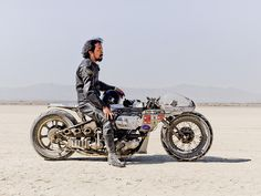 Shinya Kimura with Motorcycle by lemonice photos, via Flickr