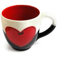 Love my coffee cups. this one needs to come home to Momma! Ceramic Coffee Cups, Ceramic Mugs, Ceramic Pottery, Ceramic Art, Pottery Painting, Ceramic Painting, Painted Mugs, Hand Painted, Painted Pottery