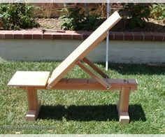 homemade adjustable workout bench