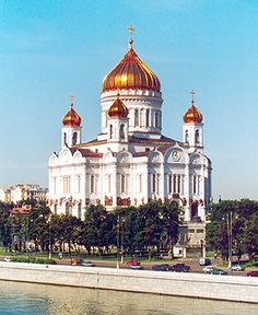 Moscow's Cathedral of Christ the Savior was destroyed by Stalin in 1931 but restored in the 1990s.