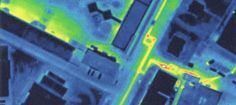 The thermal imaging room in detecting infiltrations