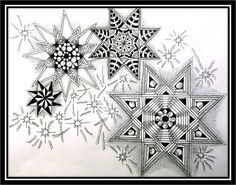Zentangle Challenge #114 | Xplore & Xpress