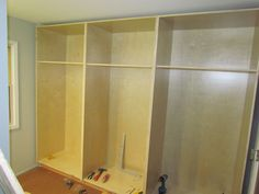 Future closets. Cabinet cases complete