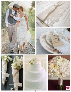 vintage and lace - love the parasol