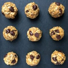 Chewy and delicious grab-and-go fuel, these No Bake Chocolate Chia Coconut Energy Bites are perfect for stashing in your purse, gym bag or desk drawer.