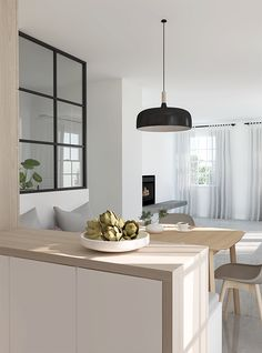 E-design project: Small kitchen design by Eleni Psyllaki of My Paradissi.