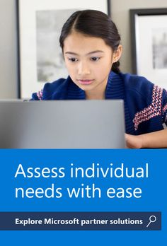 To create an inclusive learning experience, educators need tools to help them quickly assess individual student needs. Check out these Microsoft EDU partner solutions designed with accessibility in mind. Reading Assessment, Feedback For Students, Inclusion Classroom, Learning Ability, Teaching Plan, Challenges And Opportunities, Classroom Tools, Learning Environments, Professional Development