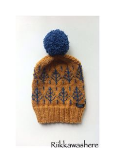 Knitted woolhat , woolbeanie