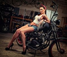 Pin-up. Rockabilly. Denim. Bikes...Americana at it's heart.  NA PÁGINA:  https://www.facebook.com/eairapaziada